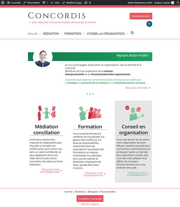 site web concordis
