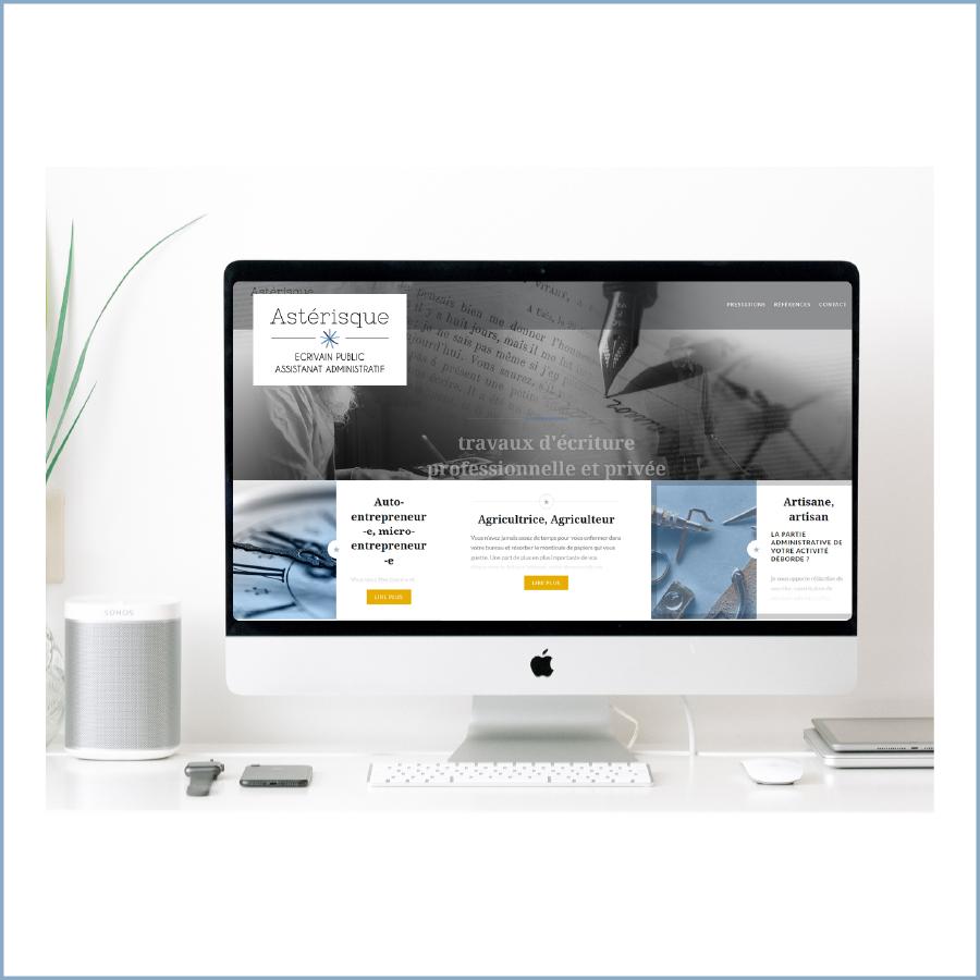 Site internet Asterisque